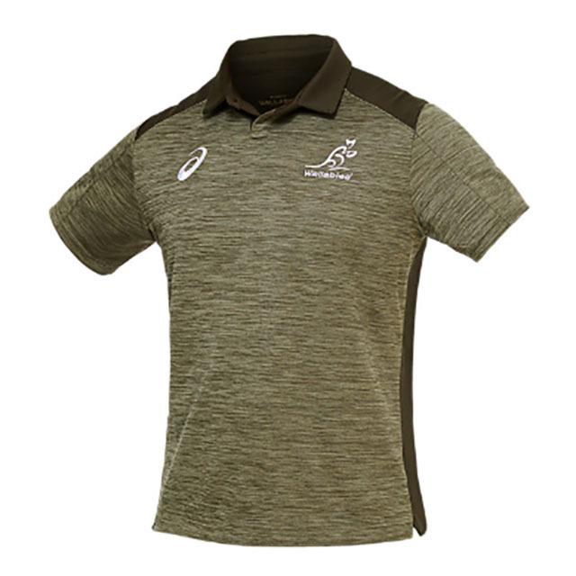 オーストラリア代表 ワラビーズ 2020 メディアポロシャツ