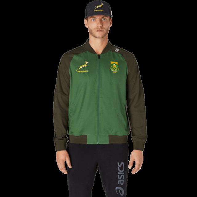 南アフリカ代表 スプリングボクス 2021 プレゼンテーションジャケット