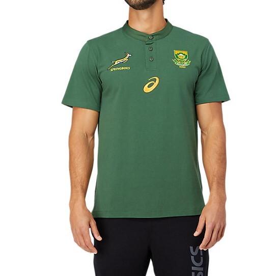 南アフリカ代表 スプリングボクス 2021 メディアポロシャツ