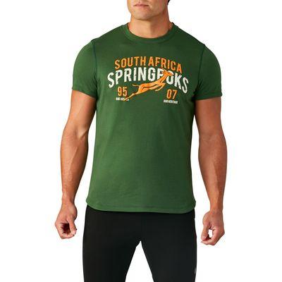 南アフリカ代表 スプリングボクス 19/20 グラフィックTシャツ
