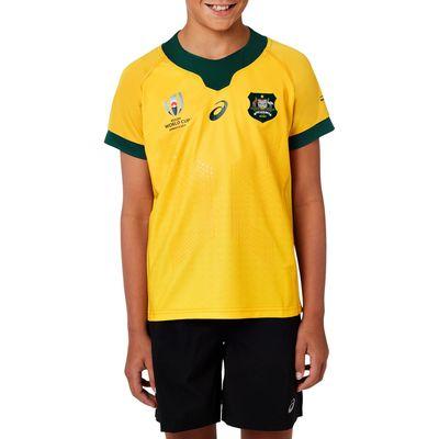 オーストラリア代表 ワラビーズ RWC2019 子供用 ホームジャージ