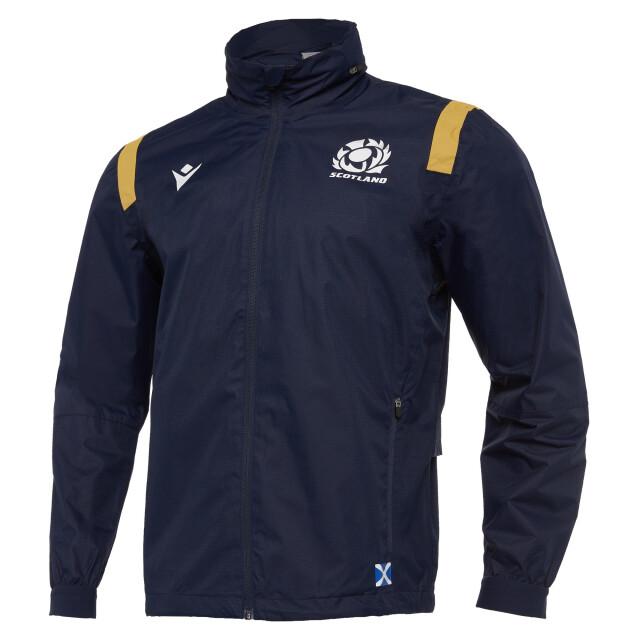 スコットランド代表 20/21 フルジップWATERPROOFジャケット
