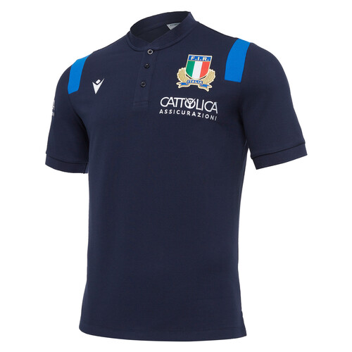 【ポイント10倍!】イタリア代表 20/21 トラベルポロシャツ
