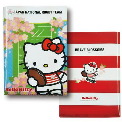 ラグビー日本代表 オフィシャル ハローキティ A4 クリアファイル