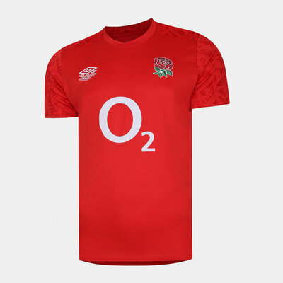 イングランド代表 20/21 GYM Tシャツ レッド