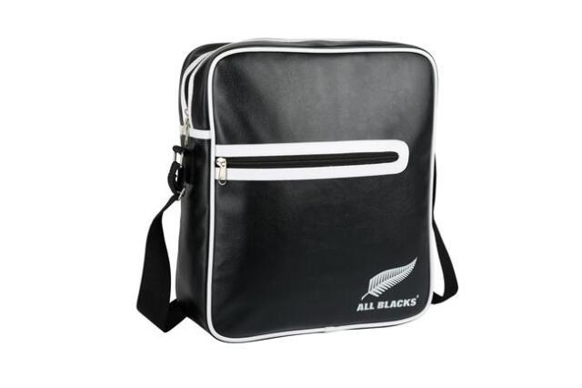オールブラックス  レトロ フライトバッグ