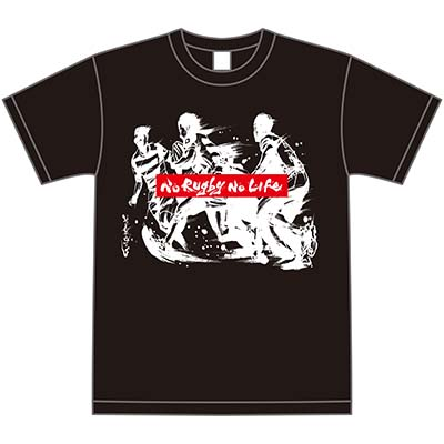 茂本ヒデキチxRugby 日本限定墨絵Tシャツ (RUN)