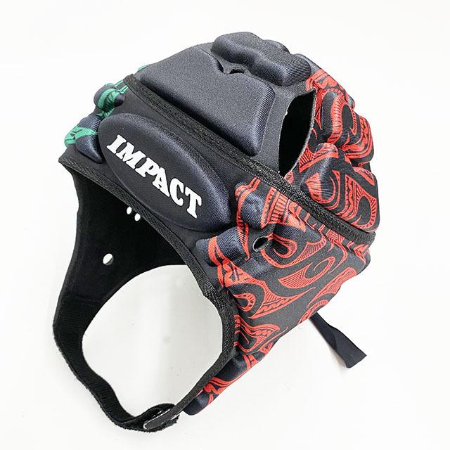 IMPACT V2 Premium Vented  マオリ マルチカラー 黒×赤×緑