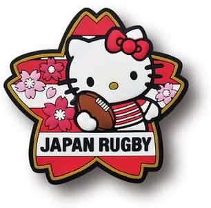 ラグビー日本代表 オフィシャル ハローキティ マグネット・桜ボーダー
