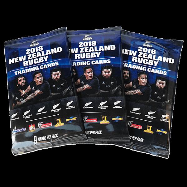 ニュージーランド ラグビー トレーディングカードパック(1パック9枚入)