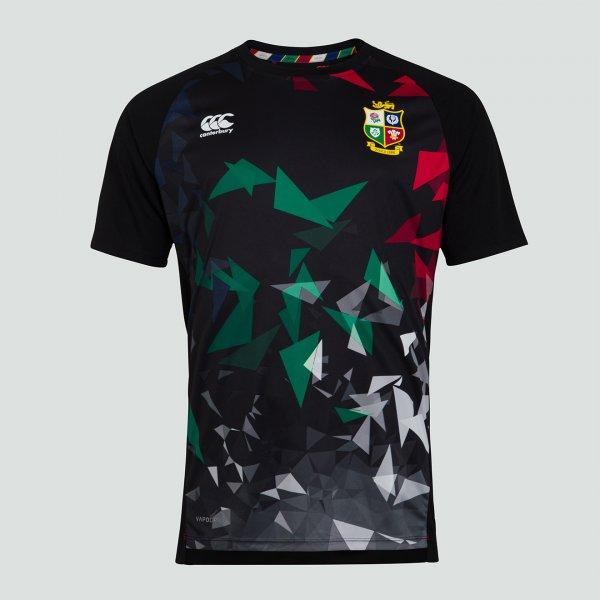 British & Irish Lions 2021 グラフィックTシャツ ブラック