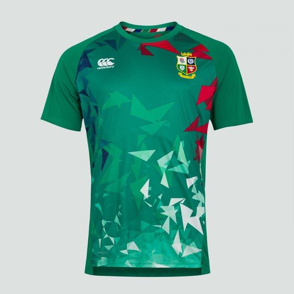 British & Irish Lions 2021 グラフィックTシャツ グリーン