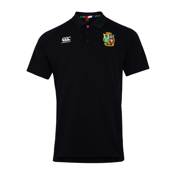 British & Irish Lions 2021 ポロシャツ ブラック