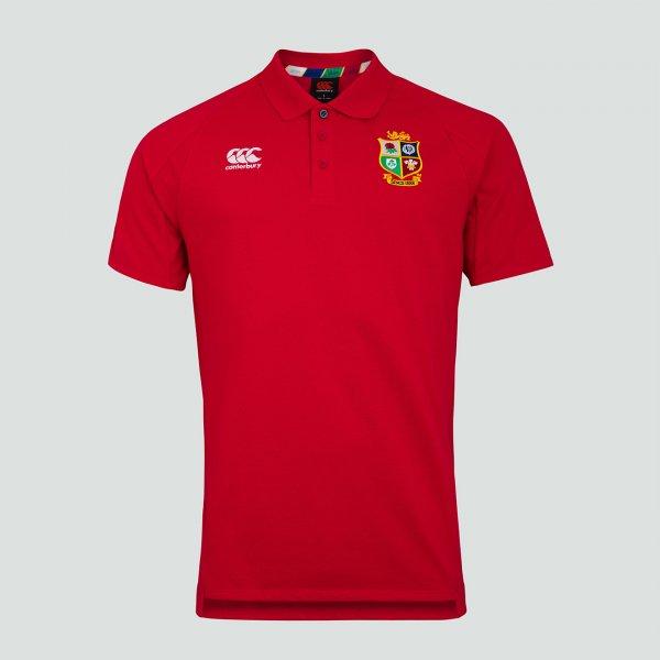 British & Irish Lions 2021 ポロシャツ レッド