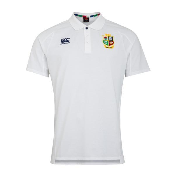 British & Irish Lions 2021 ポロシャツ ホワイト