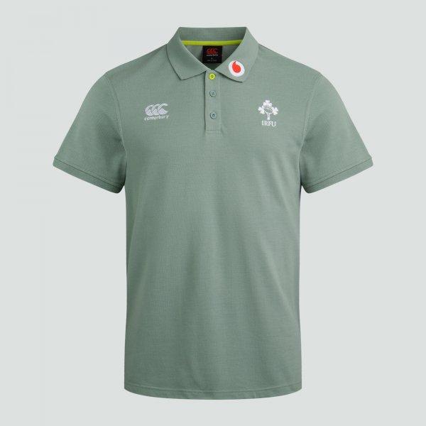 アイルランド代表 20/21 ラグビーポロシャツ グレー