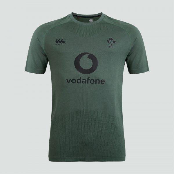 アイルランド代表 21/22 シームレストレーニングTシャツ ダークグリーン