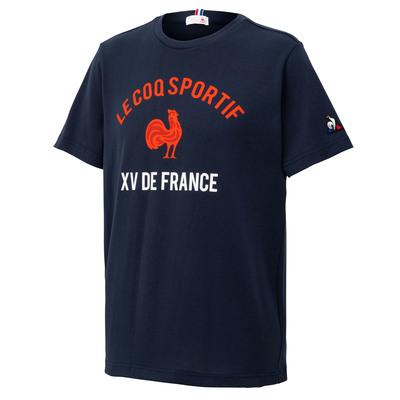 フランス代表 2019 半袖Tシャツ(グラフィック) ネイビー