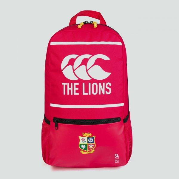 British & Irish Lions 2021 ロゴバックパック レッド