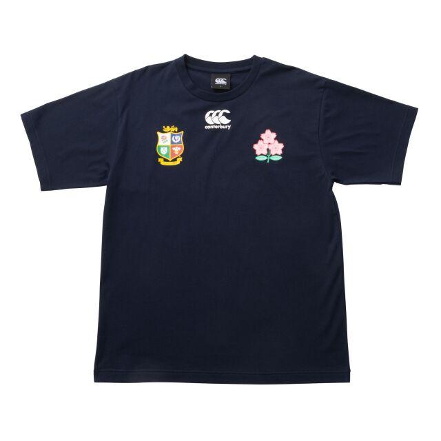 日本代表×ブリティッシュ&アイリッシュ・ライオンズ ロゴTシャツ【全2カラー】