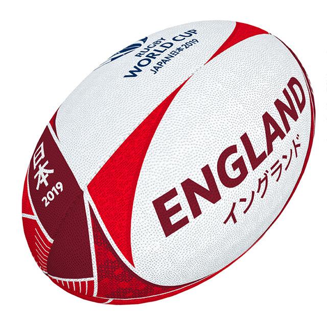 ギルバート製 RWC2019 イングランド サポーターボール