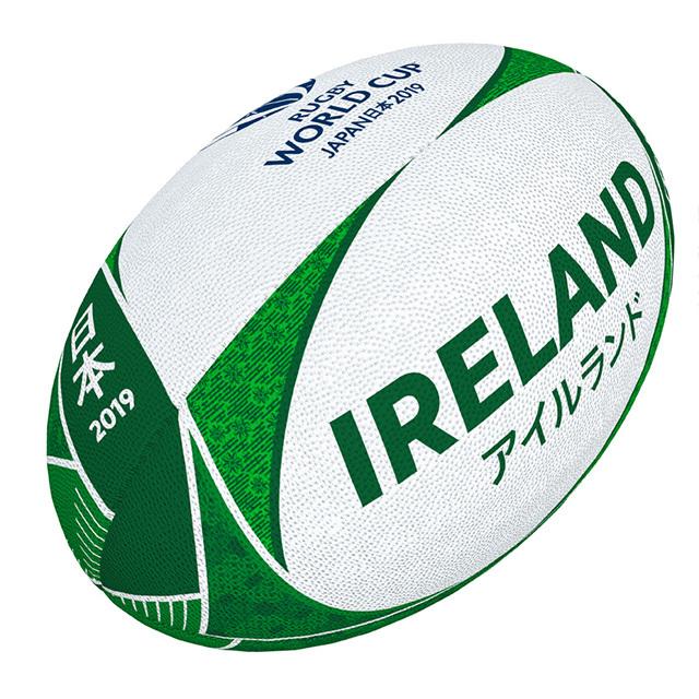 ギルバート製 RWC2019 アイルランド サポーターボール