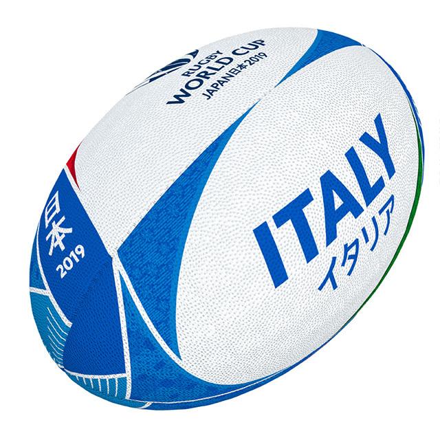 ギルバート製 RWC2019 イタリア サポーターボール