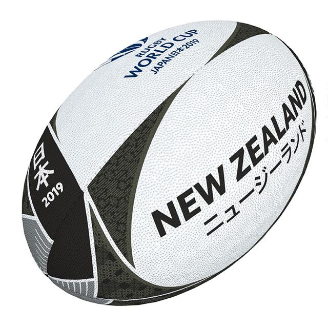 ギルバート製 RWC2019 ニュージーランド サポーターボール