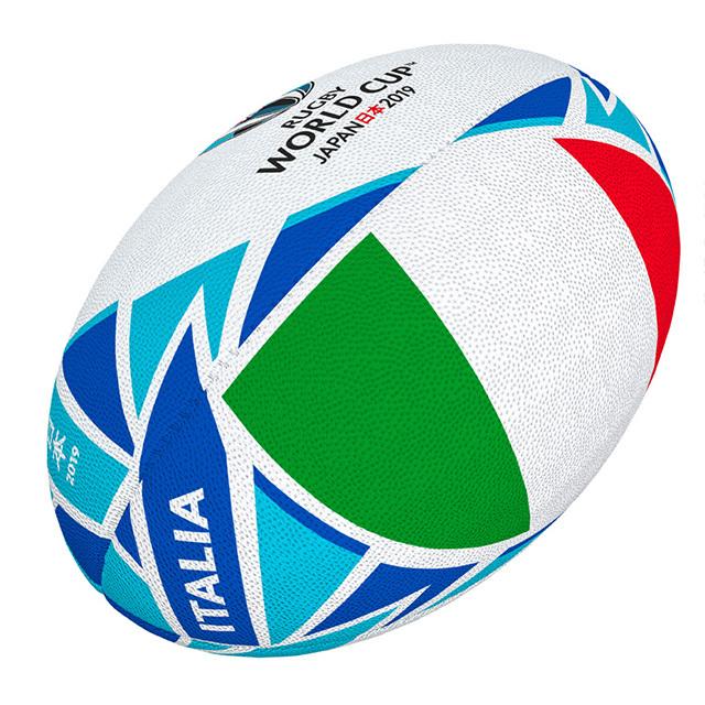 ギルバート製 RWC2019 イタリア フラッグボール