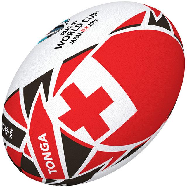 ギルバート製 RWC2019 トンガ フラッグボール