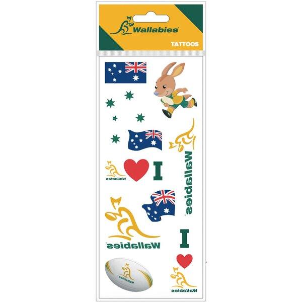 オーストラリア代表 ワラビーズ タトゥーシール