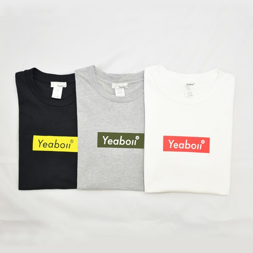Yeaboii Box logo T-shirt
