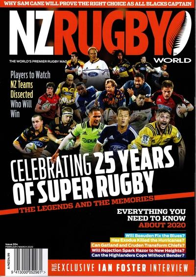 NZ RUGBY 2020年2月3月号 No.204