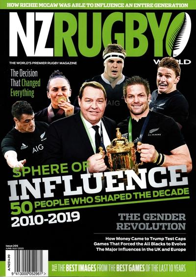 NZ RUGBY 2020年6月7月号 No.205