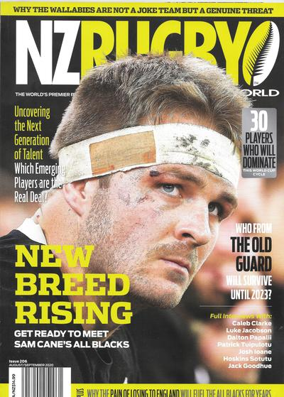 NZ RUGBY 2020年8月9月号 No.206