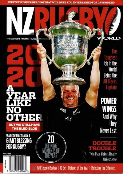 NZ RUGBY 2020年12月2021年1月号 No.208