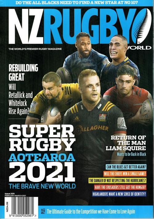 NZ RUGBY 2021年2月3月号 No.209