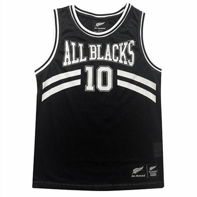 オールブラックス 子供用 バスケットボール シングレット
