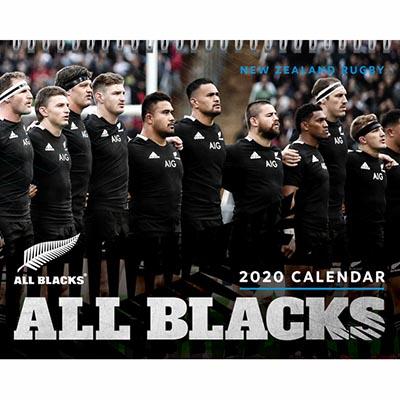 オールブラックス 2020 卓上カレンダー