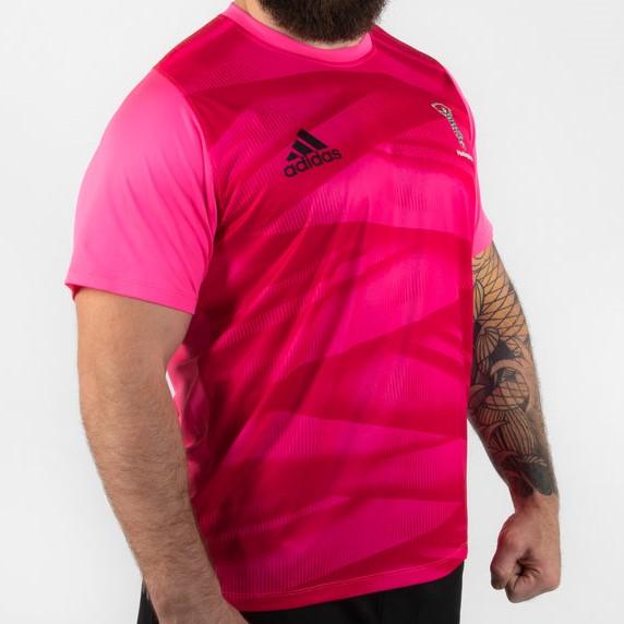 ハレクインズ 19/20 Players Tシャツ ピンク 【海外取寄商品】
