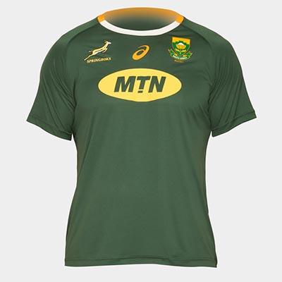 南アフリカ代表 スプリングボクス 19/20 ホームTOP ファンTシャツ