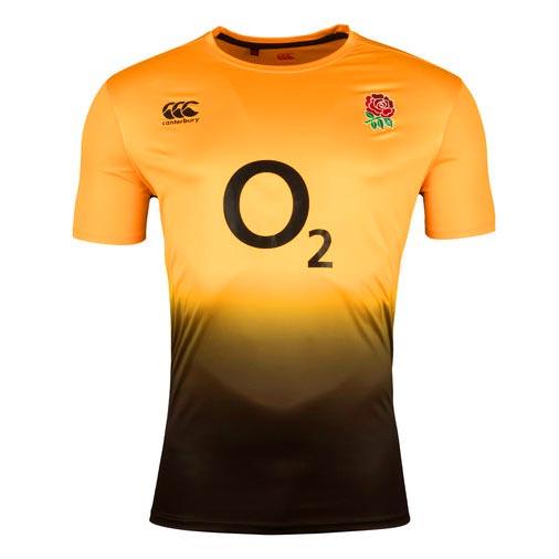 イングランド代表 2018 Poly トレーニングTシャツ オレンジ