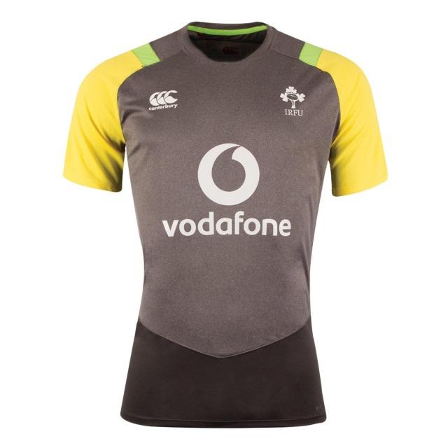 アイルランド代表 2018 Poly トレーニングTシャツ グレー