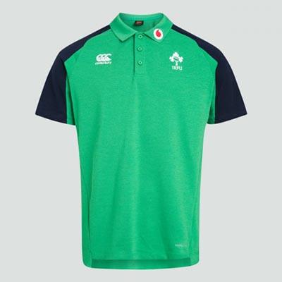 アイルランド代表 19/20 ラグビーポロシャツ グリーン