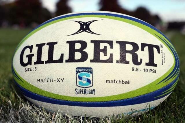 ギルバート製 スーパーラグビー マッチボール(MATCH XV) 5号球