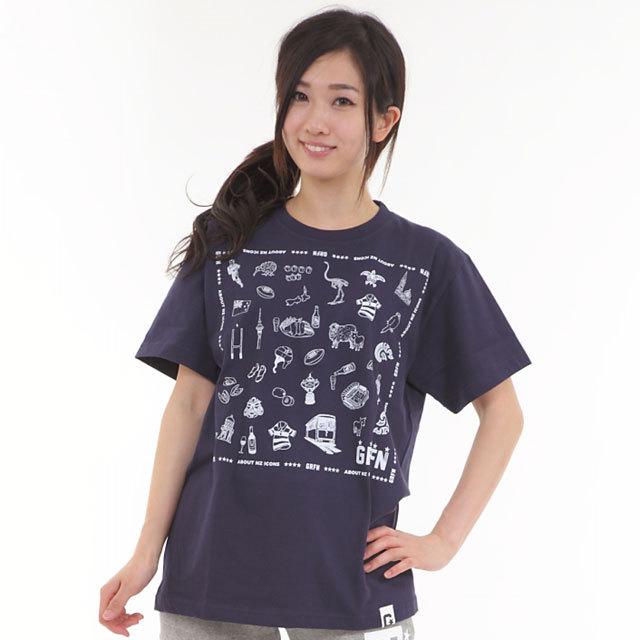 グリフィン GRFN NZ ICONS Tシャツ ネイビー