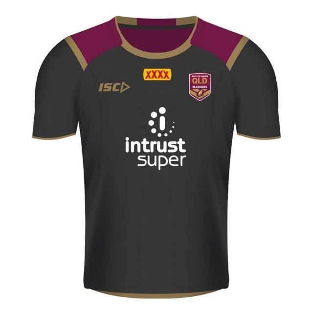 クイーンズランド 2018 トレーニングTシャツ ブラック