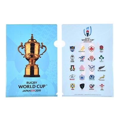 ラグビーワールドカップ2019(TM) 公式ライセンス 20 UNIONS クリアファイル