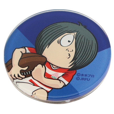 ゲゲゲの鬼太郎×ラグビー日本代表 マグネット 青