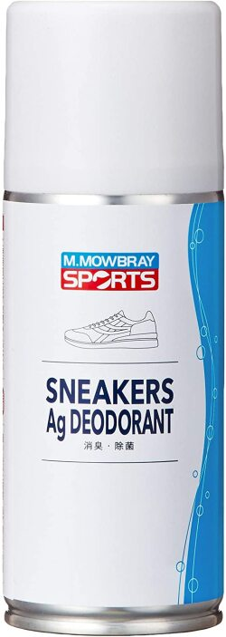 M.MOWBRAY SPORTS 靴消臭スプレー スニーカーAgデオドラント 125ml
